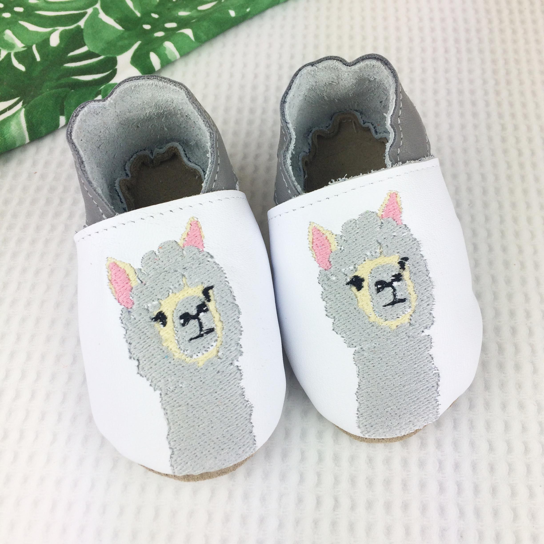 Born Bespoke Leather Baby Shoes Alpaca Evolution